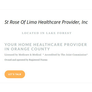 Saint of Rose Lima HCP